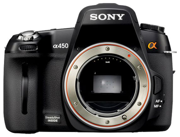 SONY : ALPHA-A450 (DSLR)