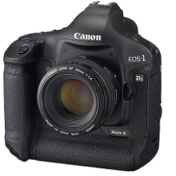 CANON : EOS-1DS-MARK-III (DSLR)