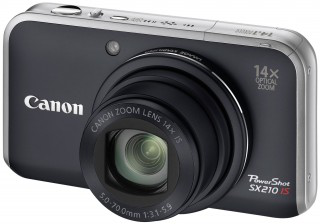 CANON : POWERSHOT-SX210-IS (COMPACT)