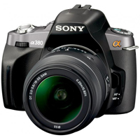 SONY : ALPHA-A380 (DSLR)